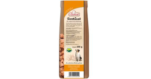 Bubeck Carrot Snack 250g