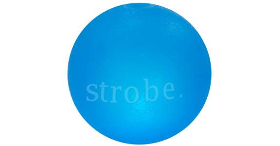 Orbee-Tuff blinkender Ball